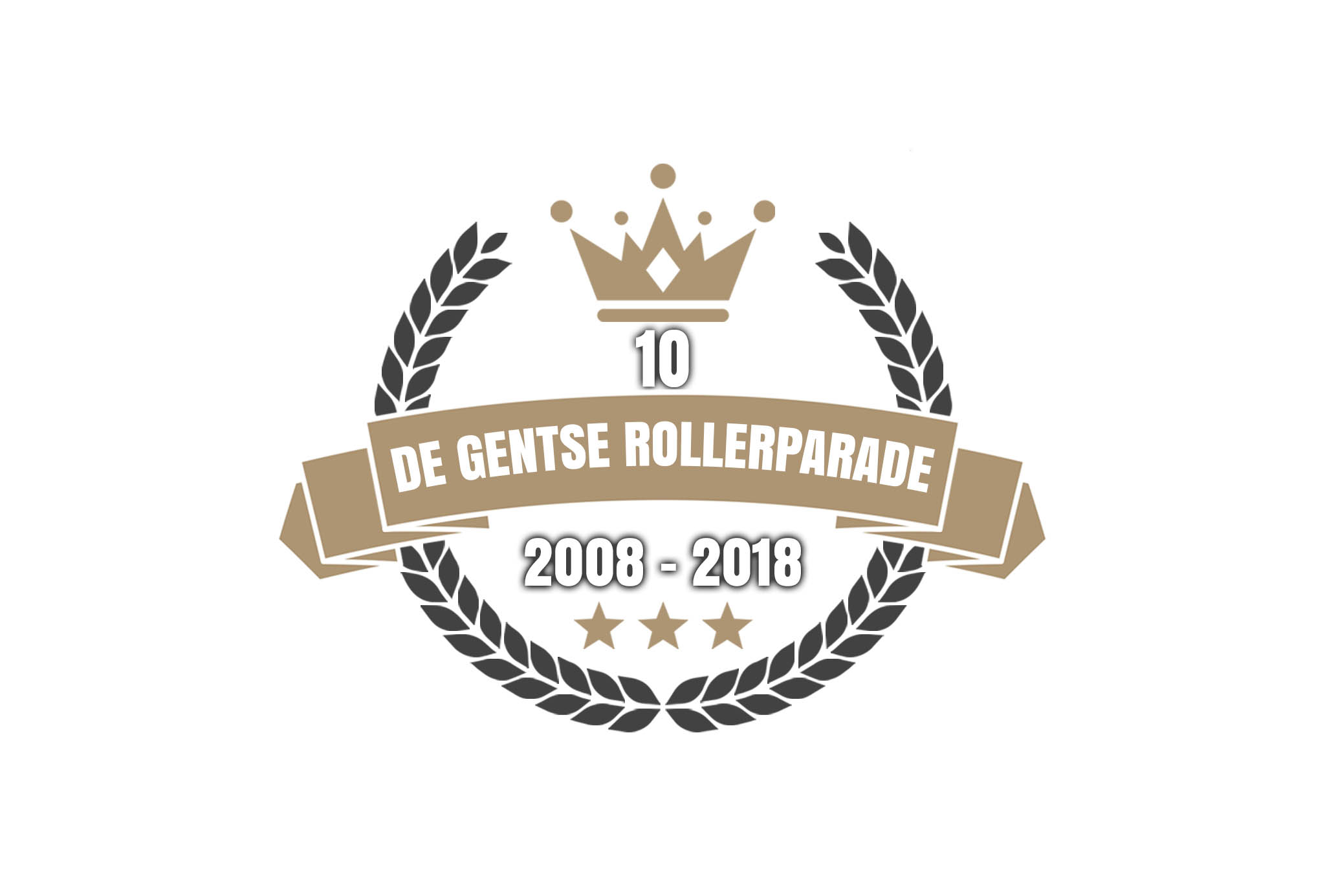De Gentse Rollerparade 2018 : 10 jaar